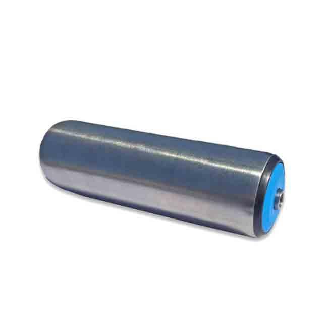Rustfri rulle Ø50 12mm aksel