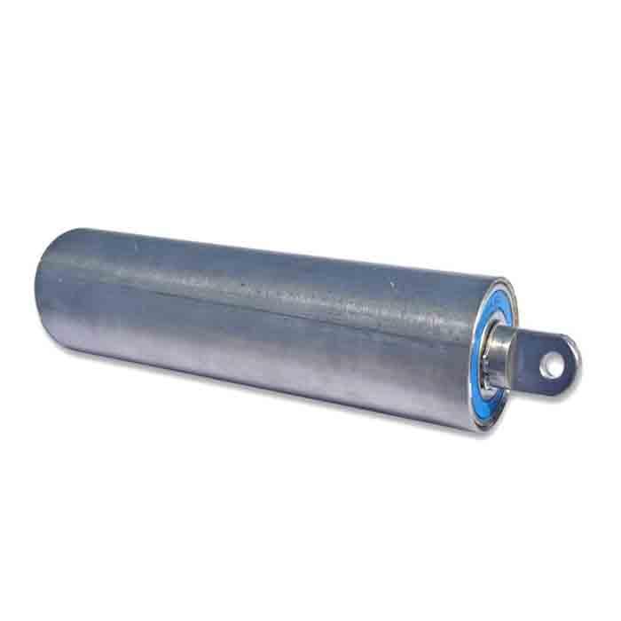 Rustfri rulle Ø50/2 20mm aksel