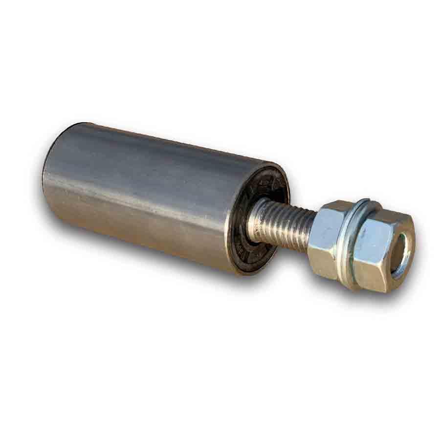 Styrerulle 38/2mm med 15mm aksel