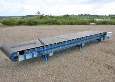 Båndrullebane for transport af sværgods
