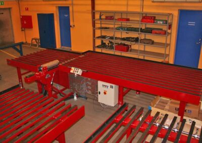 Montagestation til borerørsmotorer