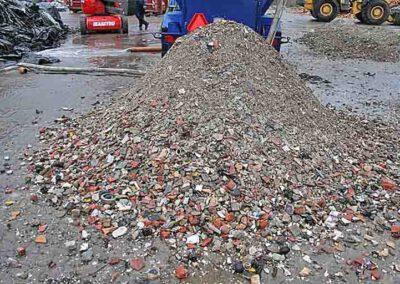 Sorteret organisk affald fra Biocleaner