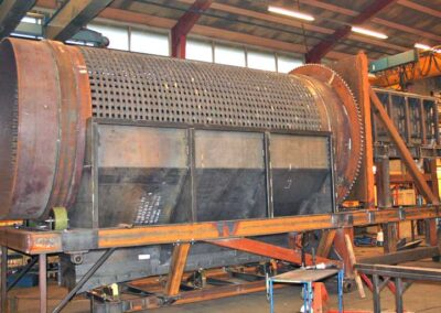 Rensetromle for aluminiumsindustri