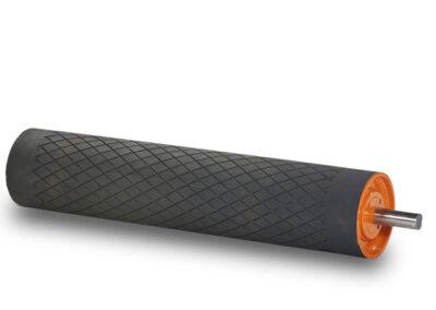 Træktromle for transportør eller båndrullebane